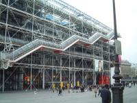 Centre Pompidou in Parijs.